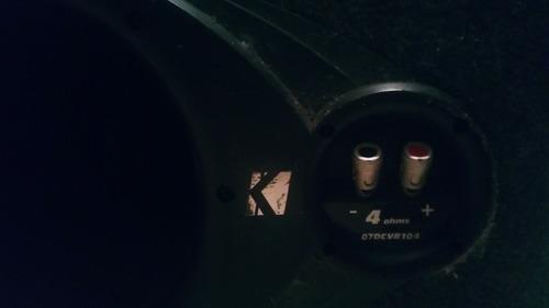 bajo kicker cvr 12  doble bobina. cajón de fábrica. poco uso