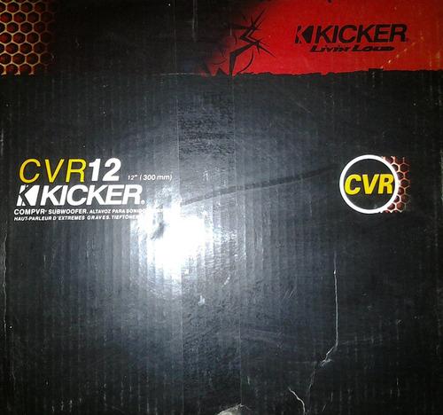bajo kickers 12 800w cvr compvr doble bobina subwoofer nuevo