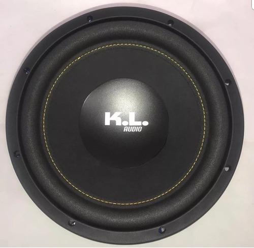 bajo kl audio 1800 watts 12 pulgadas doble bobina kl-w1237