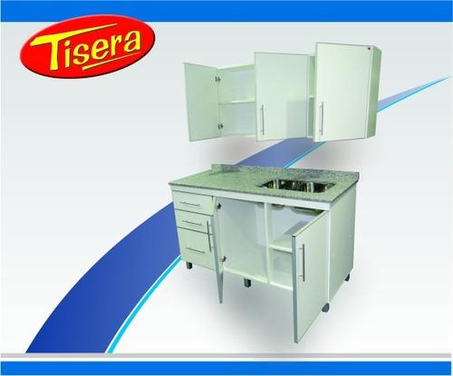 bajo mesada alacena cocina aluminio 100 combo fabrica tisera