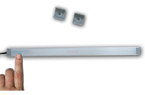 bajo mesada led 50 cm alta potencia touch tactil + dimmer