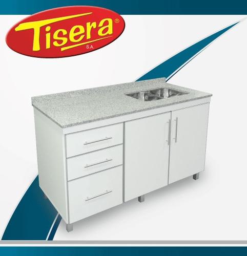 bajo mesada mueble cocina aluminio 100 fabrica tisera mbm-10