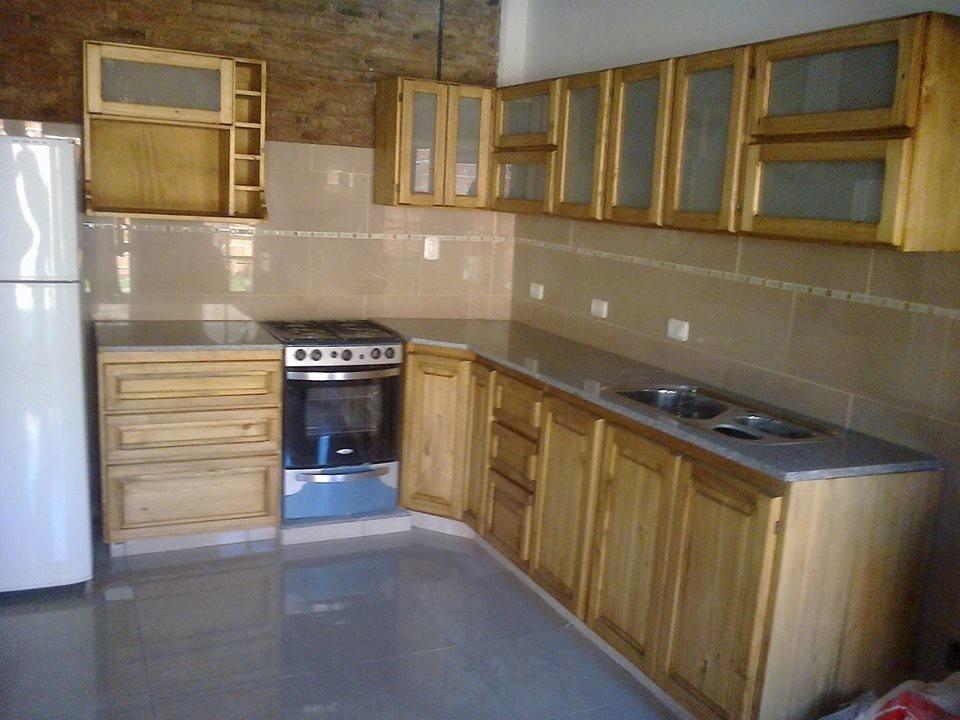 Bajo Mesada-mueble Cocina-estilo Campo - $ 5.650,00 en Mercado Libre