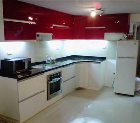 Mueble De Cocina 1 Metro Bajo Mesada Y Alacena Muebles - Muebles de ...