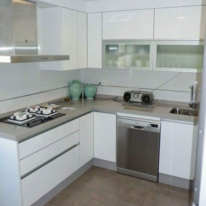 Bajo Mesada O Alacena - Mueble Cocina Moderno - 1 Metro - $ 6.850,00 ...