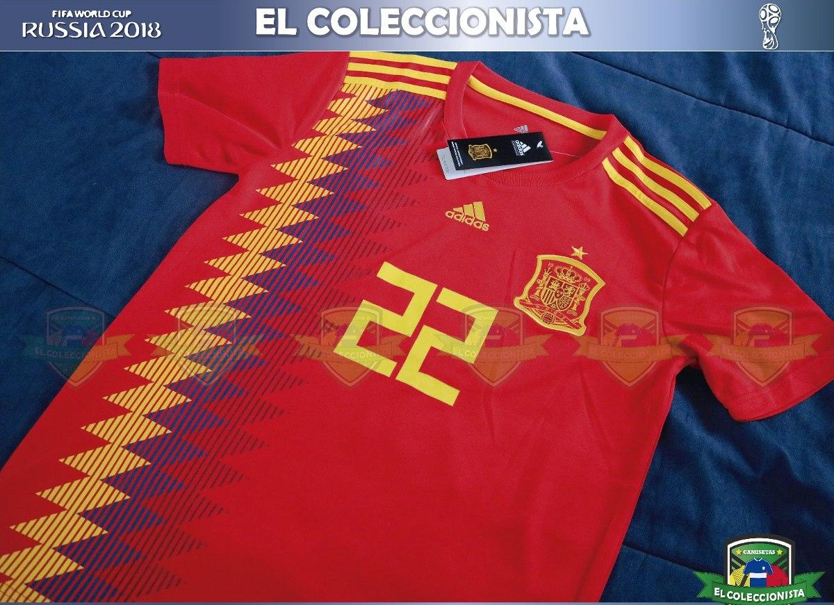 3dbe7e784c653 bajo pedido camiseta selección españa isco mundial rusia2018. Cargando zoom.