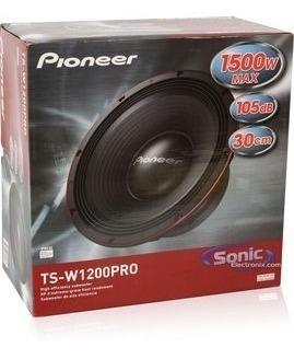 bajo pioneer 12 pulgadas mod tsw1200pro somos tienda físic