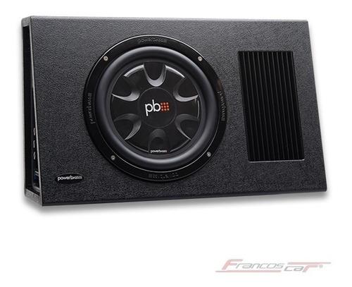 bajo plano powerbass 10 pulgadas amplificado ps-awb101t