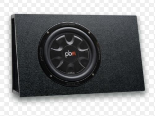 bajo power bass con cajon plano 10 pulgadas