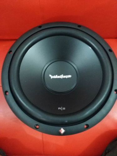 bajo rockford prime r2d4-12 r/2 12  doble bobina 500w nuevo