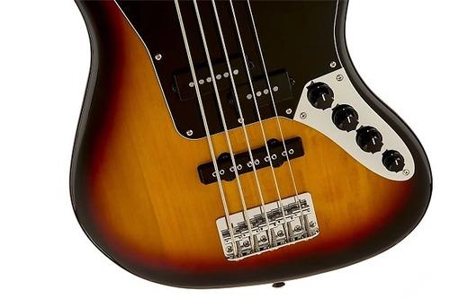 bajo squier vintage modified jaguar bass v sunburst
