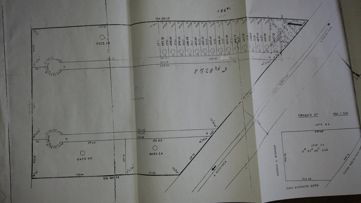 bajo su valor!!! batan fraccion 10.000 m2 para proyecto nave industrial, cabañas, galpones, complejo deportivo, etc.