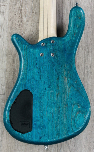 bajo warwick aleman custom shop ed. limitada lx-5 blue oil