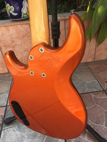 bajo yamaha bb 415 orange metallic