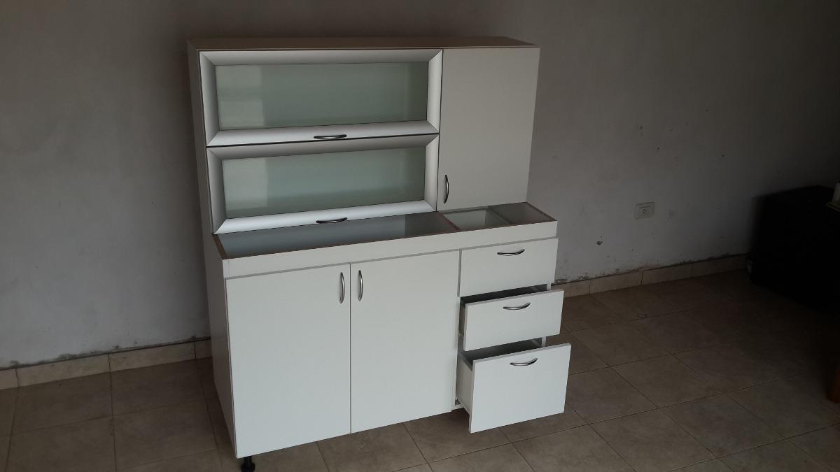 Bajomesada + Alacena Puertas Aluminio Y Vidrio ...