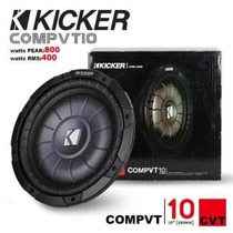 Bajo Plano Kicker 10 Originales 800watts Bobina Sencilla
