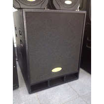Bajo Amplificado Sps Bp 18pw 1000 W 18 Pulgadas Band Pass