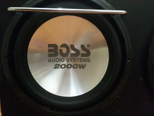 bajos boss  2000watt  planta monoblock 2000watt  nueva