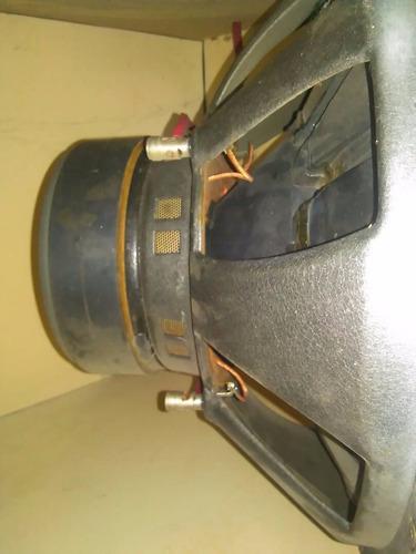 bajos kicker doble bobina cvr 15 pulgada
