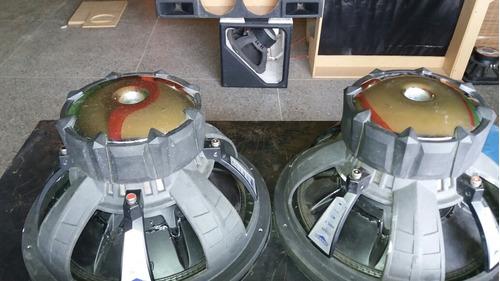 bajos kiker cvx 15   doble bobina 2000w
