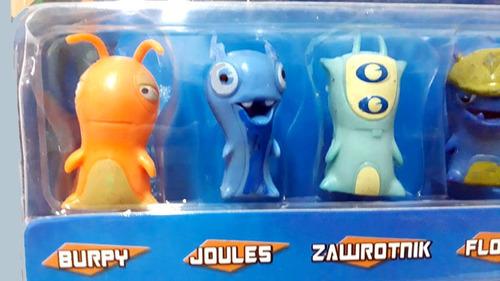 bajoterra babosas personajes x 12 coleccion completa burpy