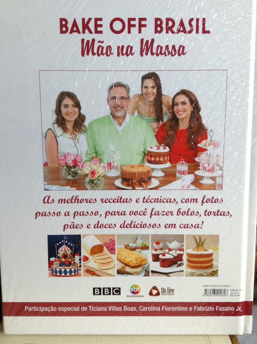 Camila Poli bake off brasil - m�o na massa - camila poli