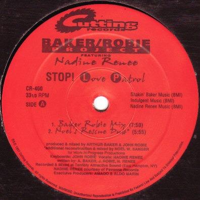 baker robie project   12 single  stop! love patrol   import.