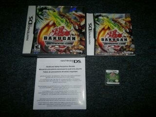 bakugan defenders of the core completo para nintendo ds