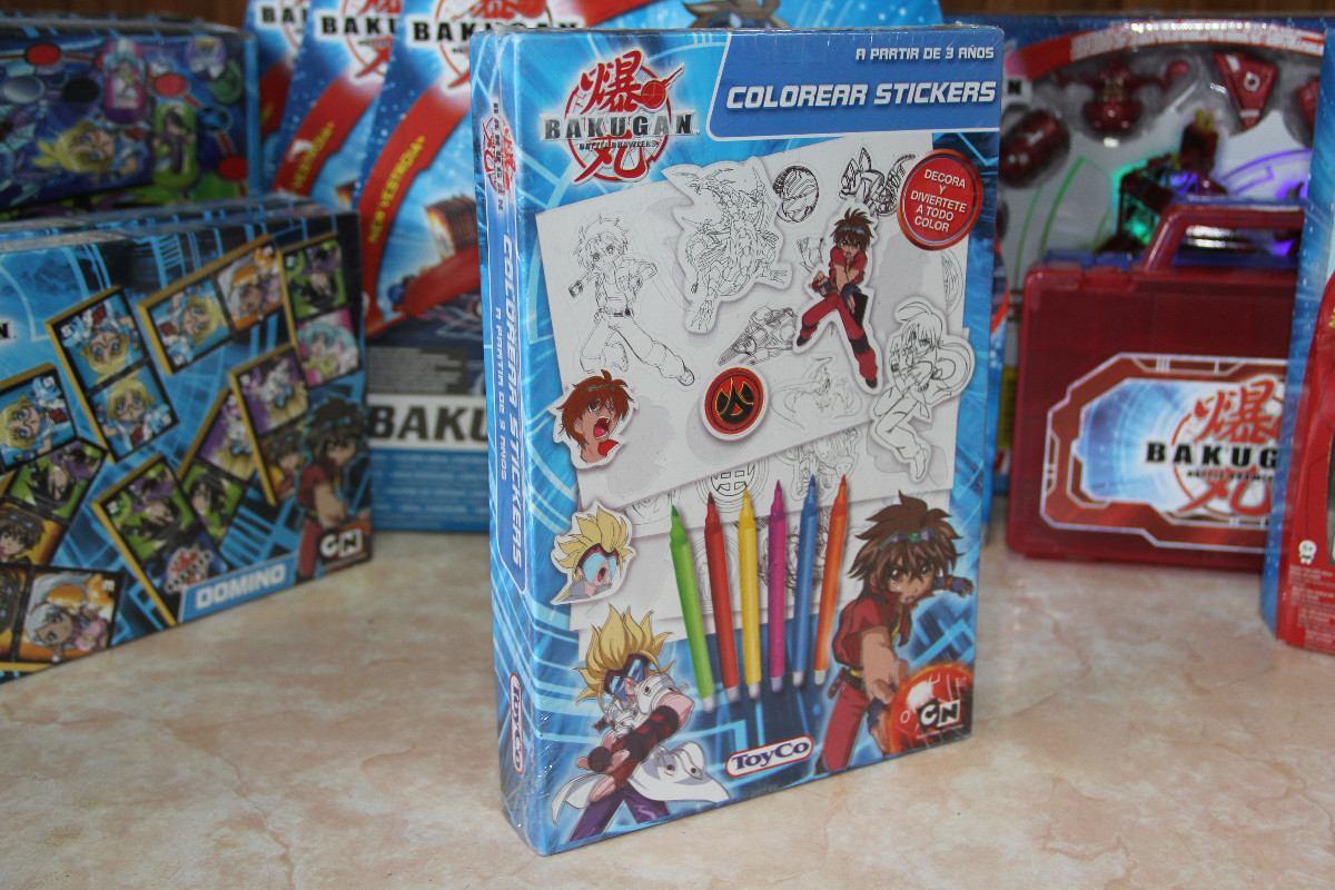 Bakugan - Stickers Para Colorear, Juego Para Niños - $ 50,00 en ...