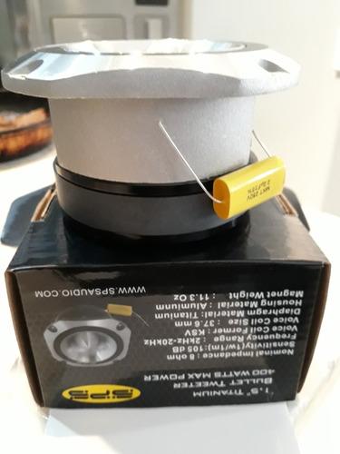 bala agudo sps 4hqf 400 watts 4 pulgadas 8 ohm titanium