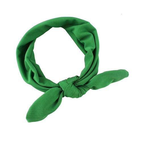 balaca cinta diadema para el pelo niñas tela suave moño 8 un