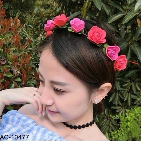 Balacas Flores Diademas Mujer Y Niña -   9.900 en Mercado Libre f5453084c96a
