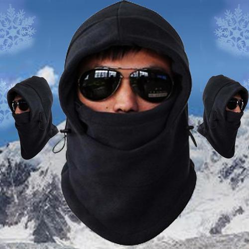 balaclava capucha cortavientos polar