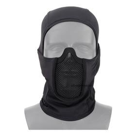 Balaclava Com Tela De Proteção Mascara Airsoft