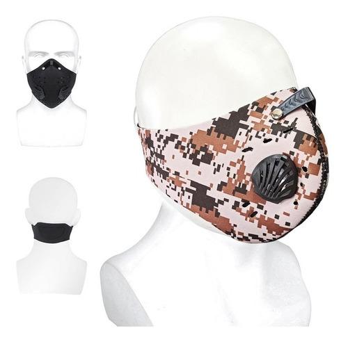 balaclava mascara antipolucion filtro moto ciclismo tapaboca