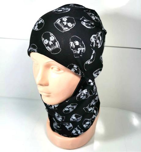 balaclava pasamontañas craneos protección facial tactico sol