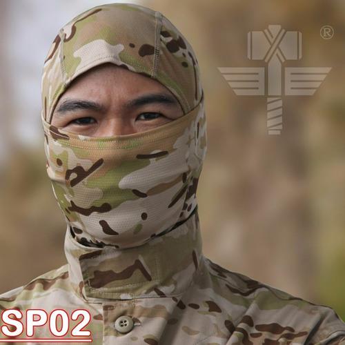 balaclava tactico militar pasamontaña airsoft modelo 9