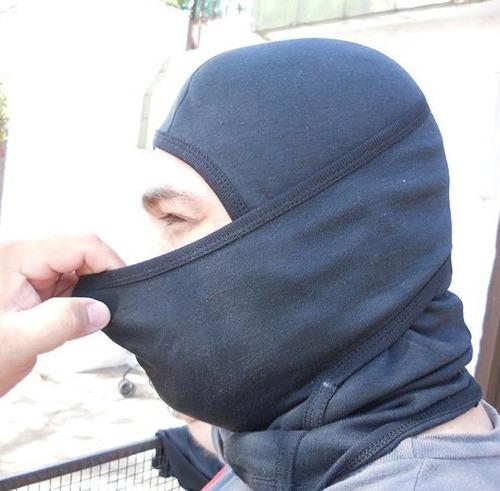 balaclava táctico ninja mask, pasa montañas ligero policial
