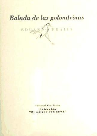 balada de las golondrinas(libro )