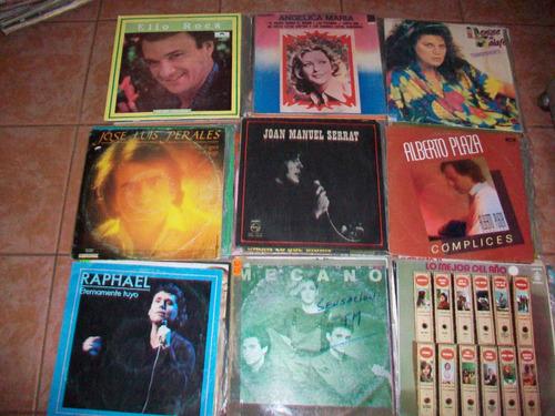 baladas antiguas en discos de acetato, lp´s en buen estado