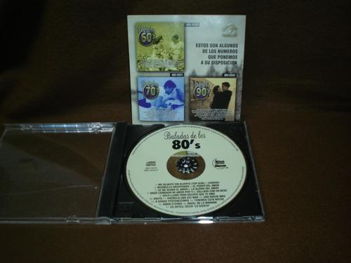 baladas de los 80´s - cd album - artistas varios dmm