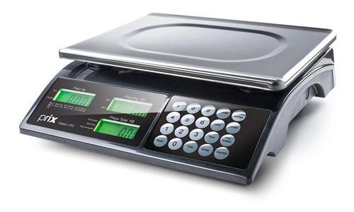 balança comercial digital toledo prix 3 fit 15 kg 110v/220v  preto