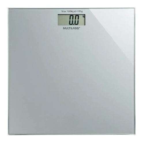 balança de banheiro academia peso corporal quadrada 180kg nf