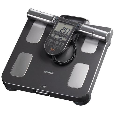 balança de controle corporal corpo inteiro omron hbf-514c