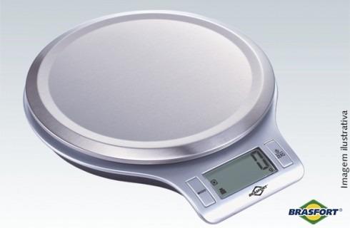 balança de cozinha digital auto desliga 5kg lcd brasfort-755