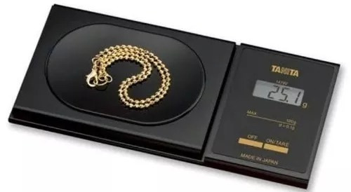 balança de precisão tanita 1479v (120 gramas) joias ourives