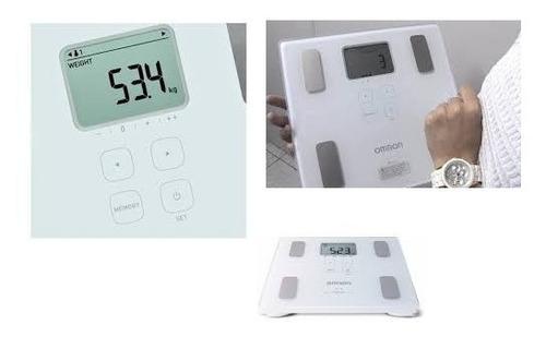 balança digital analisador corporal bioimpedancia 214 omron