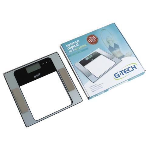 balança digital bioimpedância g-tech glass 7 fw nota fiscal