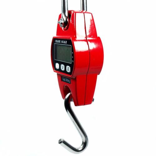 balança digital com lcd gancho p/ pesca mala pesa até 300kg