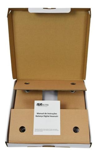 balança digital consultório vidro temperado 180kg